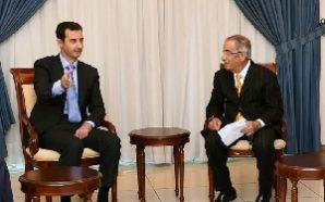 وفد الأمانة العامة لإتحاد الجاليات يلتقي الرئيس الأسد