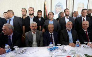 كواليس الجلسة الاولى(1) لوفدي حماس و فتح في القاهرة