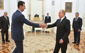 الأسد في روسيا : بعد إنهاء الإرهاب… خطوة نحو «التسوية…