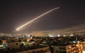 الدفاعات الجوية السورية تتصدى لعدوان فوق دمشق