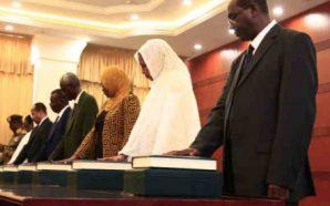 أول حكومة سودانية بعد إطاحة البشير تؤدي اليمين في بلد…