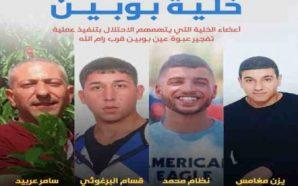 نقلاً عن مصادر رفيعةٍ اسرائيلية: التنسيق الأمنيّ بين إسرائيل والسلطة…
