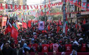 غزة: الشعـبية تُحيي ذكرى انطلاقتها بمُشاركة عشرات الآلاف من أبناء…