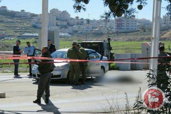 شهيد وجريح ومعتقل بنيران الاحتلال  في الرام الفلسطينية
