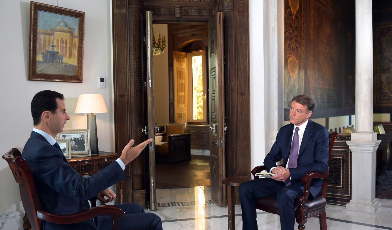 الرئيس الاسد :لا نعتقد بأن معظم رؤساء الولايات المتحدة كانت لديهم خبرة جيدة في السياسة