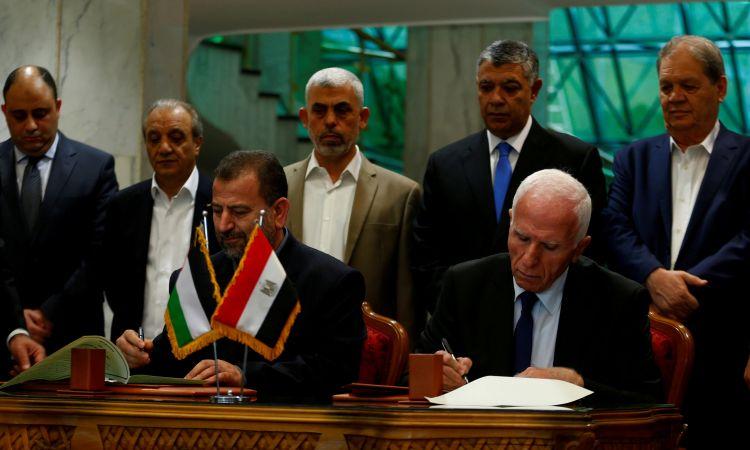 وفد مصري إلى رام الله للقاء عباس عقب تطورات إيجابية بشأن المصالحة