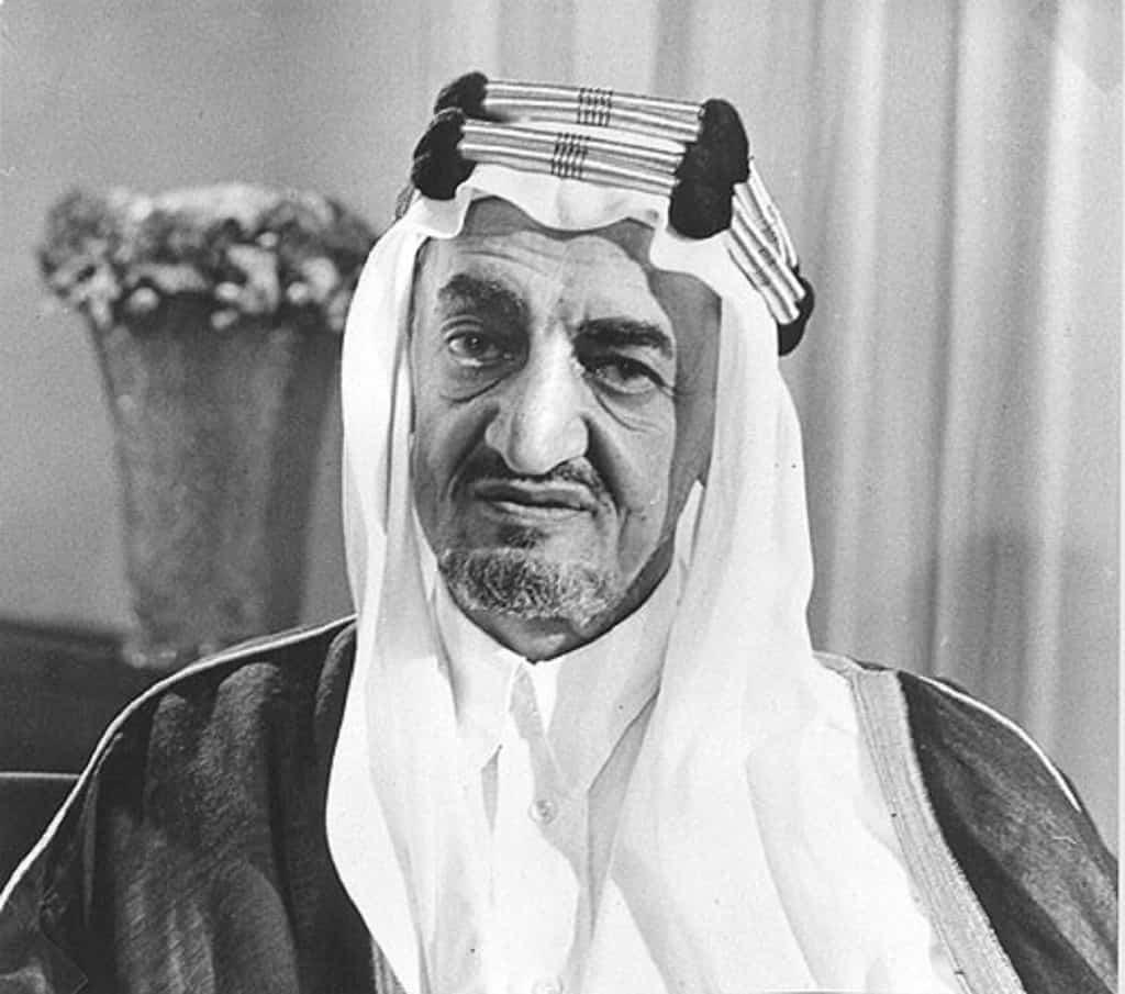 رسالة الملك السعودى السابق فيصل بن عبد العزيز إلى الرئيس الأمريكى ليندون جونسون قبل حرب 1967