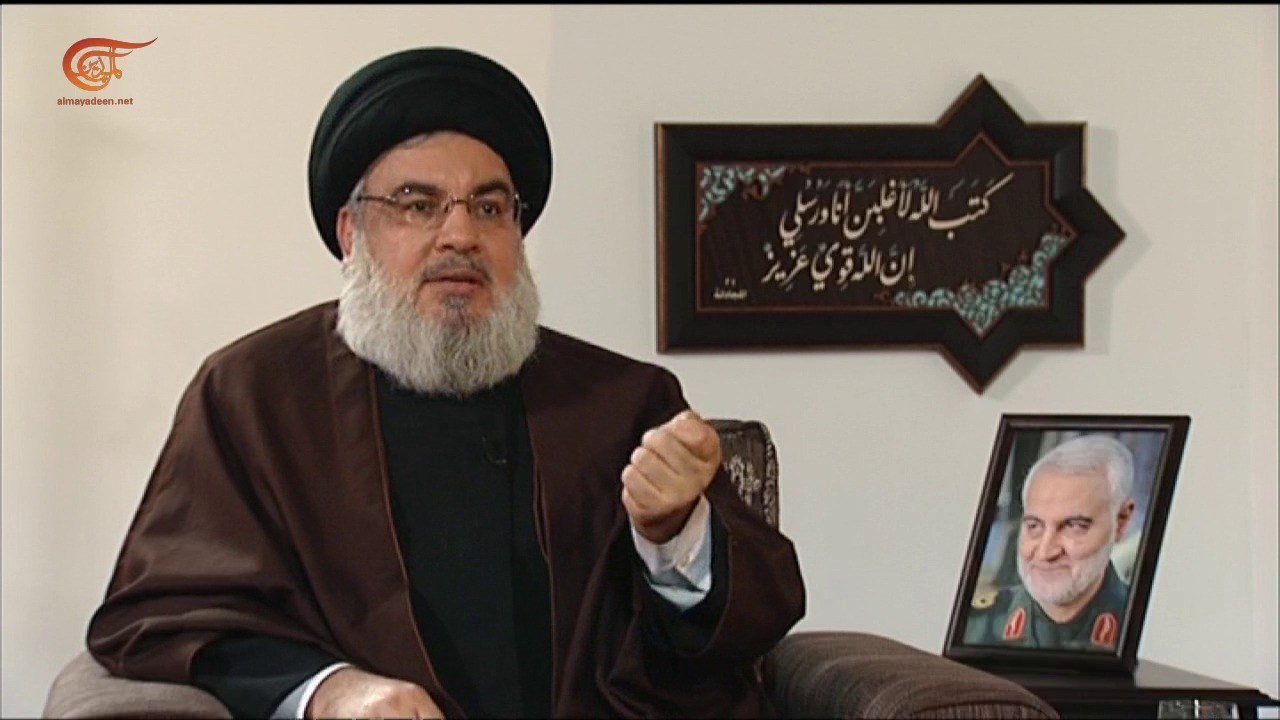 """""""السعودية أرادت اغتيالي"""".. ومواضيع أخرى كشفها السيد نصر الله للميادين"""
