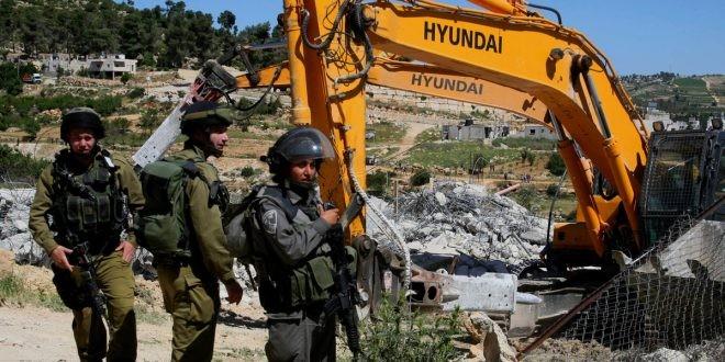 تقرير: الاحتلال هدم و صادر 178 من المباني بالضفة المحتلة
