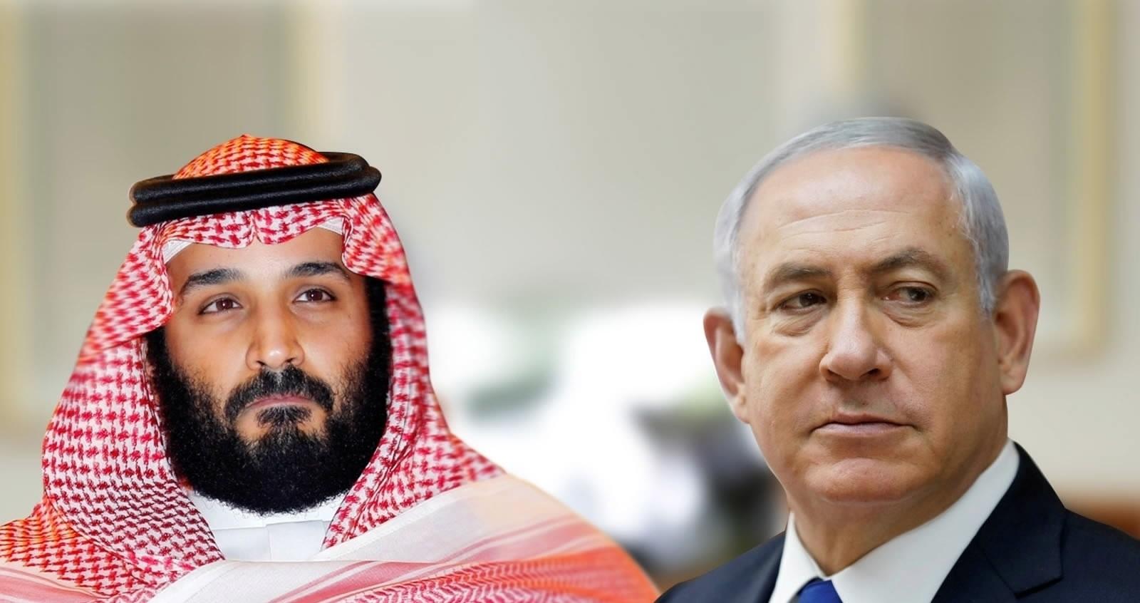 """قناة صهيونية: اتصالات متقدمة لعقد لقاء بين """"نتنياهو"""" و""""بن سلمان"""" غدًا في الإمارات"""