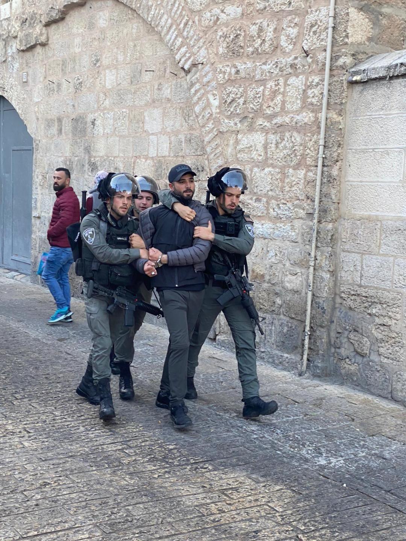 نادي الأسير: القدس تتصدّر الاعتقالات على يد جيش الاحتلال منذ أربع سنوات