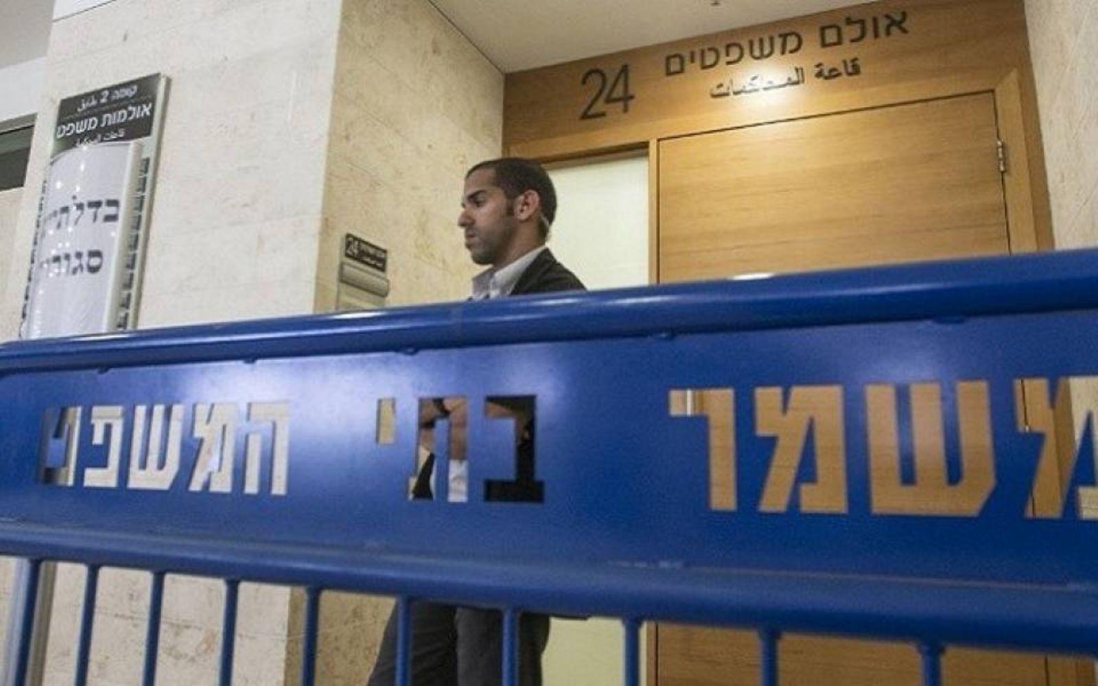 محكمة صهيونية تحكم على الأسير مراد مساك بالسجن 18 شهراً وغرامة مالية
