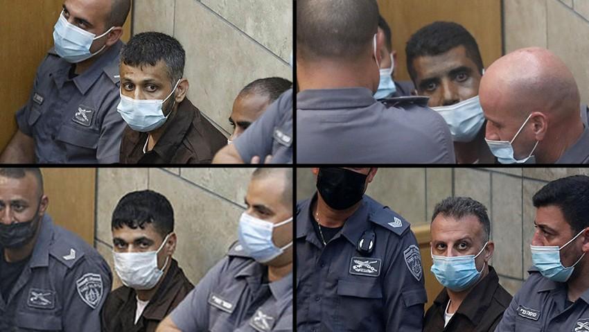 """الاحتلال يعرض 4 من أسرى """"نفق الحرية"""" على المحكمة اليوم"""