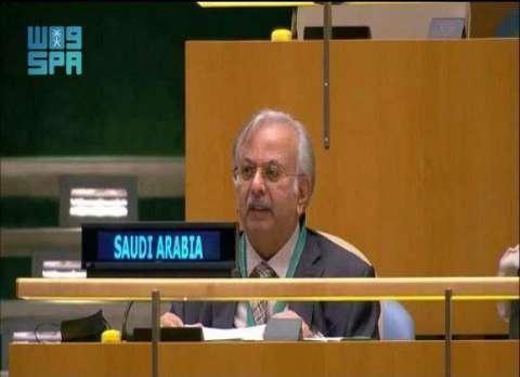 السعودية من مقر الأمم المتحدة تهاجم إسرائيل بشدة وتطالب مجلس الأمن بإجبارها على إنهاء الاحتلال