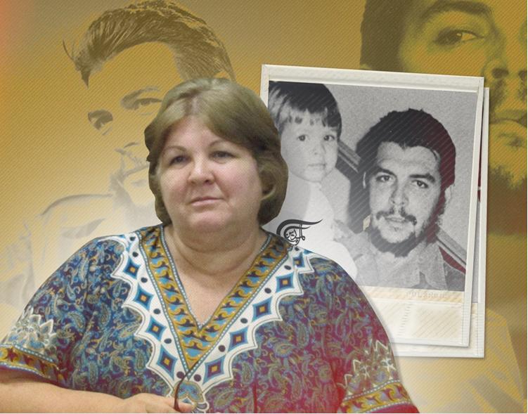 أليدا تشي غيفارا: والدي كان يوصي دائمًا بدعم الشعب الفلسطيني والقتال إلى جانبه